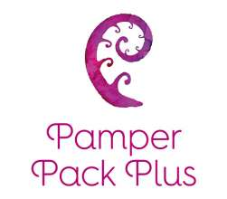 Pamper Pack Plus Logo stacked