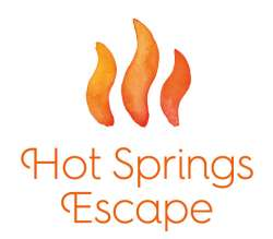 Hot Springs Escape Logo stacked